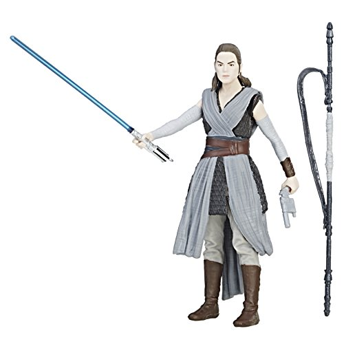 Star Wars - Gli ultimi Jedi - Rey Force Link 9.5cm figura di azione
