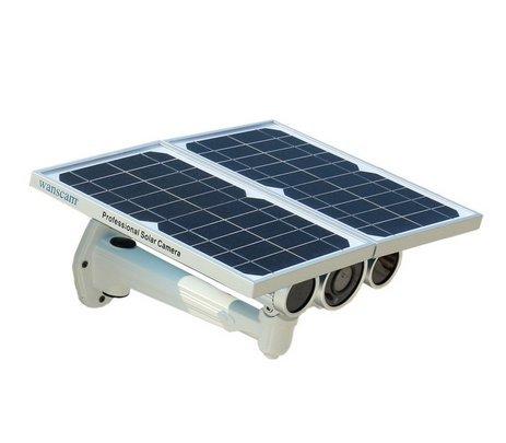 Wanscam HW0029-3 Cámara IP de nueva generación de energía solar con visión nocturna de 80 m