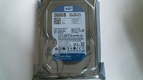 Preisvergleich Produktbild 500GB SATA WD5000AZLX-75K2TA00 7200 UPM Festplatte