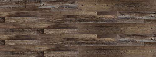 HORI® Klick Vinylboden PVC Bodenbelag I Wasserfest I viele Dekore wählbar I Eiche Patchwork I HANDMUSTER