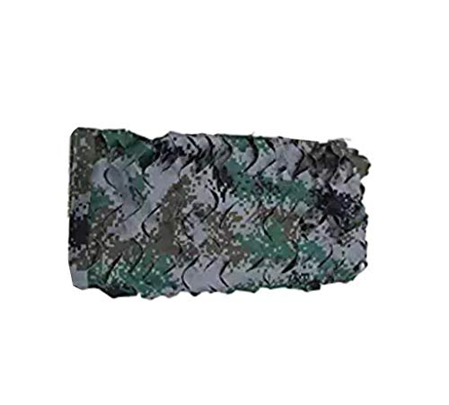 KXBYMX Filet de camouflage filet de camouflage de défense aérienne Écran solaire plante de fleur de jardin (Couleur : A, taille : 3m*3m)