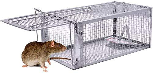 Pasas Rattenfalle,Ultrafeines und Starkes Eisennetz,zum Fangen von Mäusen und Siebenschläfern verwendet Wird, ist leicht und ohne Chemikalien zu fangen Länge