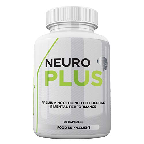 Neuro Plus by Freak Athletics - Premium Nootropic Supplement - Support Mental Performance - Suitable for Both Men & Women - 60 Capsules - Made in The UK High Quality Guaranteed