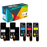 Do it Wiser 5 Cartuchos de Tóner Compatibles para Xerox Phaser 6020 6022 WorkCentre 6025 ...