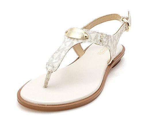 Michael Kors Placa sandalias de tiras de Gladiador