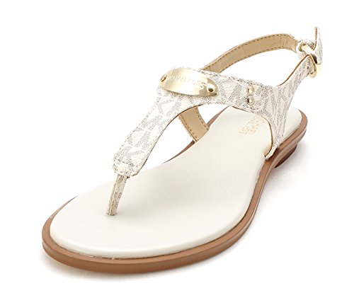 Michael Kors Plate Thong Gladiator Sandals