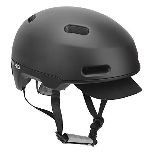 Estink Casco de Bicicleta, Casco de protección para la Cabeza 8 Piezas de Agujeros con Borde Desmontable para Ciclismo/Escalada en Roca