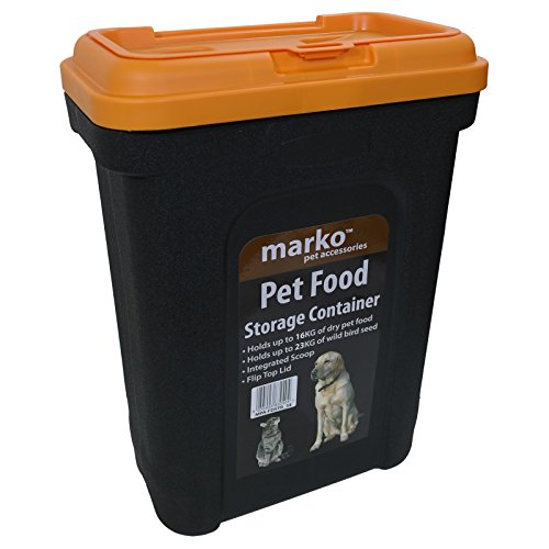 16KG Pet Dry Food Storage Container Dry Box Tub Dog Cat Bird Fish Seed Nut
