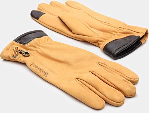Timberland Nubuk Handschuhe Hellbraun S