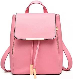 School Teenage Backpack For Girls Vintage Waterproof Leather School Bags For Girls Black Women Backpacks Lady Leather Bags