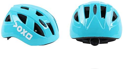 Casco para niños, equipado con equipo de protección para bicicleta, patinaje en...
