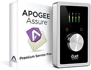 Apogee Duet USB Audio Interface for iPad & Mac with 3 Year Apogee Assure Premium Service Plan