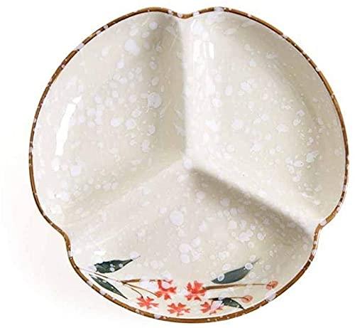 Juego de Platos, Cena Placas Cerámica Cena Placas Desayuno Bandeja Sushi Placa Cocina Vajilla Postre Placa Placa Ensalada Platos China Tailware , Euro Ceramica
