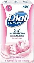 Dial Complete 2in1 Silk & Magnolia Bar Soap - 6 ct.