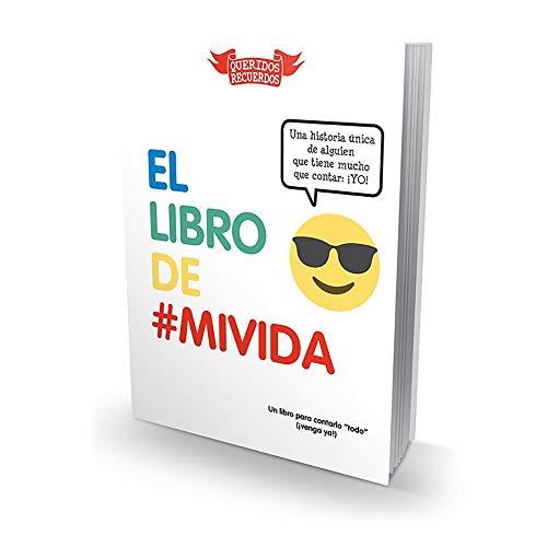 Calledelregalo Colección de Libros Serie Queridos Recuerdos (El Libro de mi Vida)