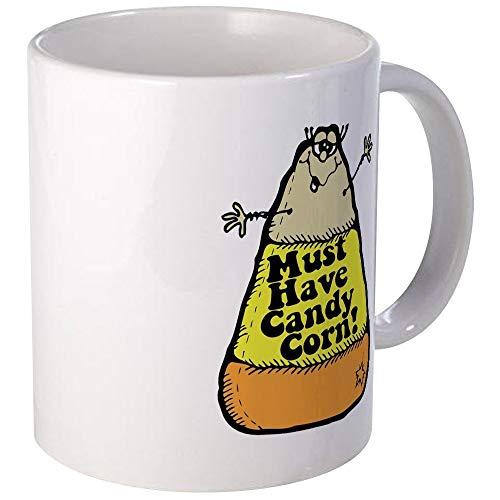 N\A Taza de café única Divertida de la Taza de Las Pastillas de Caramelo de Halloween, Taza de café