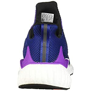 adidas Men's Alphaboost Running Shoe, Unity Ink/Real Gold/Shock Purple, 7.5 M US
