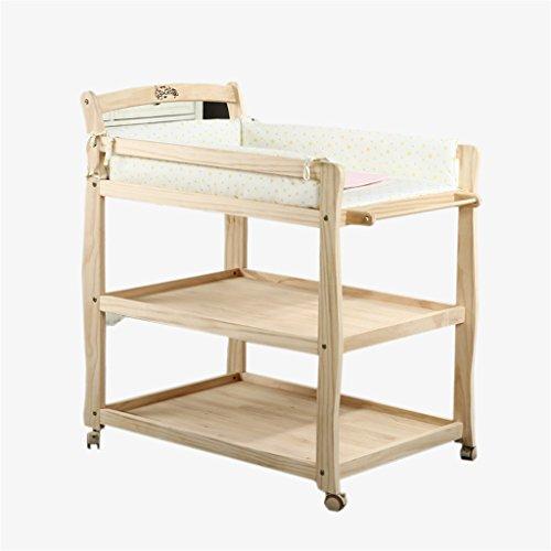Ali@ Bébé table à langer bébé table à langer toucher table/stand de douche/amovible multifonctions infirmerie bureau/hauteur réglable tapis cadeau 60 kg