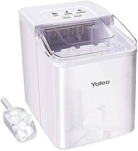 YOLEO Eiswürfelmaschine, leise Ice...