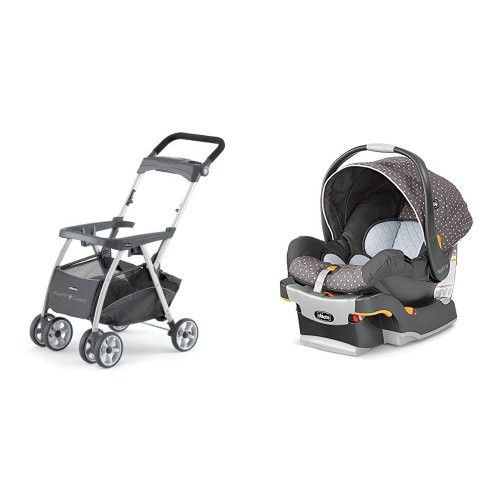 New Chicco Keyfit Infant Car Seat and Base with Car Seat with Caddy, Lilla