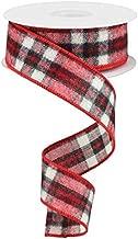 flannel plaid ribbon