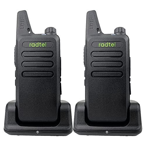 Radtel RT-10 Mini Two Way Radio Rechargeable...