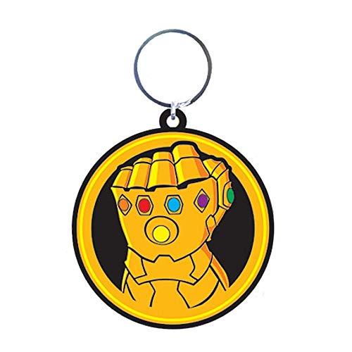 Llavero de goma con diseño de los Vengadores de Marvel...