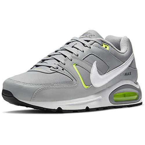 Nike Air MAX Command, Zapatillas para Correr Hombre, Lt Smoke Grey White Ghost Green Smoke Grey, 45.5 EU