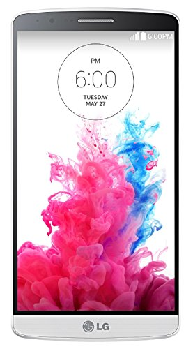 LG D850 32GB WHITE G3 D850 32GB Unlocked GSM 4G LTE Quad-HD 13MP Camera Smartphone - Silk White
