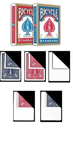 2 mazzi Carte Bicycle Standard Index + 10 Carte Gaff