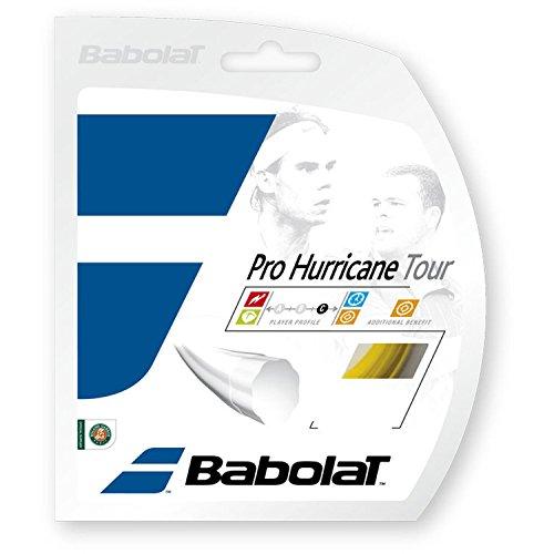 Babolat Pro Hurricane Tour 12M Cordaje de Tenis, Unisex Adulto, Amarillo, 130