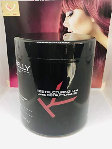Mascarilla para pelo seco restructurante Perfumada 1000ml Karibelly/Mascarilla para el pelo seco/Acondicionador/repara/Tratamiento en crema.