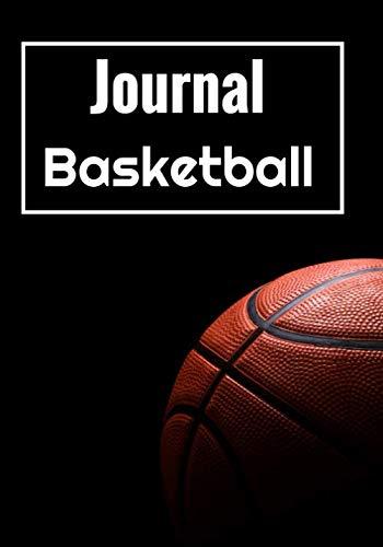 Journal Basketball: Carnet de bord basket et note   90 pages   7x10 pouce   Terrain   Composition   Technique   Score   Pour les amoureux du basket