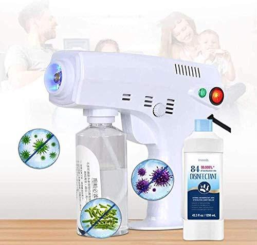 Ulv-Fogger, tragbarer Ulv-Sprayer, Laden elektrischer Ulv-Sprayer, Blaulicht-Nano-Dampfpistolen-Zerstäuber-Maschine, zur Indoor-Außenhygienedesinfektion