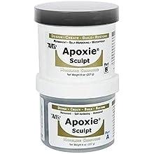 Apoxie Sculpt - 2 Part Modeling Compound (A & B) - 1 Pound, Natural