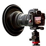 Original ULHgo Ultimate Lens Hood – Gegenlichtblende – Objektivhaube – DSLR Kamera Objektiv Anti Reflex Kamera Zubehör – Faltbarer Objektivschutz aus Gummi – Passt auf 49 mm - 82 mm Filtergewinde
