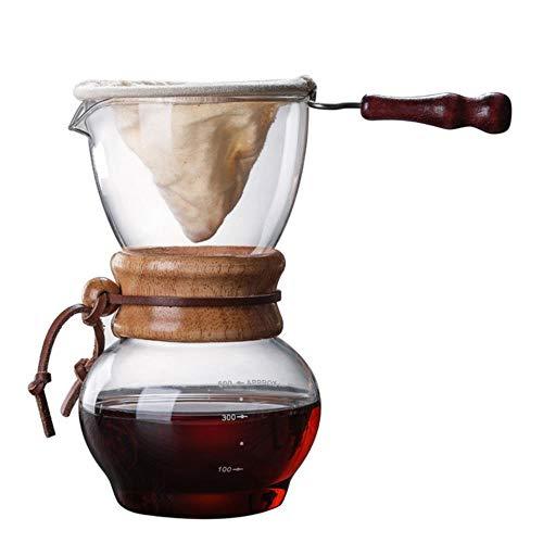 Thicken 400Ml/1 kopjes klassieke Espresso koffiezetapparaat trechter stijl gieten over koffiemachine koffiemachine Filter koffiepot Barista Style03