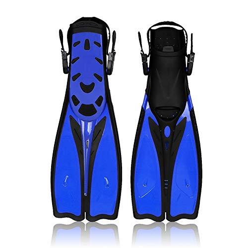 WFDA Las Aletas Ajustables Premium para Adultos Buceo Aletas de natación Aletas de Buceo Aletas Aletas Snorkel Sirena Suministros Equipo de Buceo Profesional Snorkel Aletas para Nadar