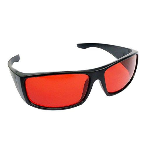 Dreamworldeu Color Blind Glasses for Red Green Corrective/Gläser Brille für Rot Grün Sehschwäche Farbenblindheit Korrektur Brille für Farbeblinde/Rot-Grün-Schwäche