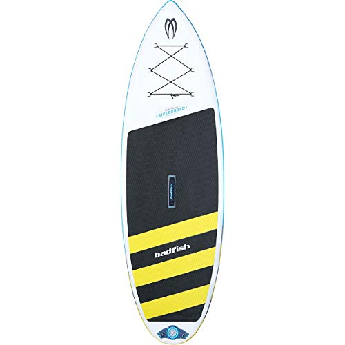 Badfish SUP Rivershred Inflatable Stand Up Paddleboard for Rivers and Whitewater