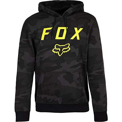 Fox Legacy Moth Camo - Sudadera con capucha para hombre Negro L