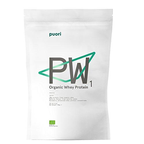 Puori Proteína de suero de leche con sabor a vainilla 1 Uni
