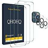 Designed for iPhone 12 Pro Max 5G 6.7 Inch 2020 screen protector and camera lens protector. screen protection film and lens protection film are both made of good quality tempered glass. The precise laser cut size can cover the entire mobile phone scr...