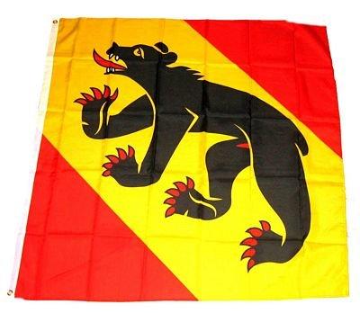 Fahne/Flagge Schweiz - Kanton Bern NEU 90 x 90 cm