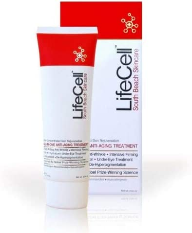 LIFE CELL South Beach Skincare Anti Aging Cream Anti Aging Treatment 2 54 oz product image