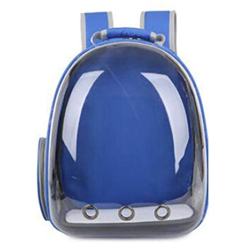 Pet Carrier Backpack,Bubble Backpack Carrier Cats and Puppies,Space Capsule Backpack Transparent Portable Breathable and Waterproof,for Travel Hiking Walking Outdoor Use Durable/B / 34×25×42cm