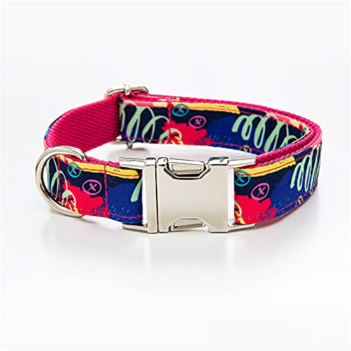 ZZCR Pet Dog Collars Multi-Size Adjustable Collars Can Be Used In All Seasons Party Collars Outdoor Training Sports Collars Collars A XL