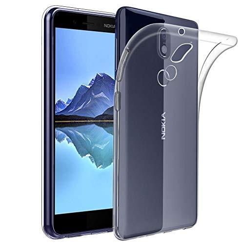ebestStar - kompatibel mit Nokia 7 Plus Hülle Handyhülle [Ultra Dünn], Premium Durchsichtige Klar TPU Schutzhülle, Soft Flex Silikon, Transparent [Phone: 158.4 x 75.6 x 8mm, 6.0'']