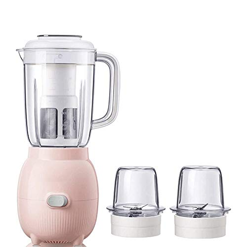 Ice blender crusher Blender, Small Household Mini Baby Food Supplement Machine,22000 RPM High Speed Fruit Blender,1200ML BPA Free Container and Filter,3 Sharp Blade for Ice/Nuts/Soup/Sauce,Antislip Ba