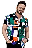 Care Instructions: Hand Wash Only Item Type: Shirts | Neck Style: Classic Collar | Fit Type: Regular Fit Material - 100% Cotton, Color-As show in image Suitable for: Sports, formal, Business Work, Date, Party, Perfect gift for families, friends and b...